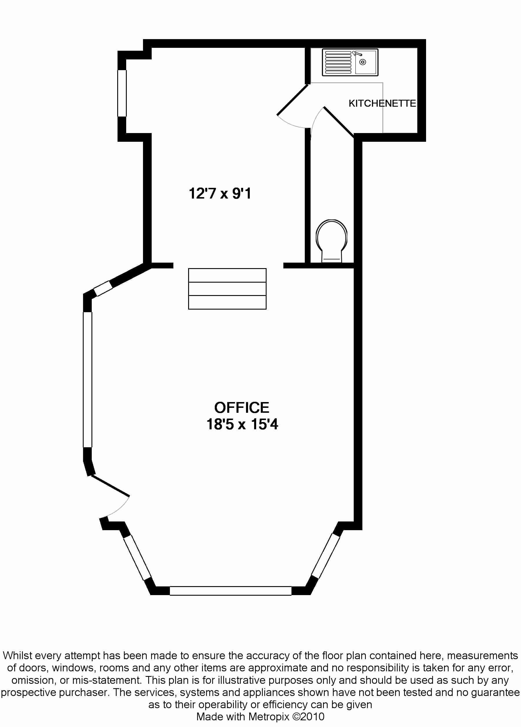 Office For Sale in Douglas - Floorplan 1