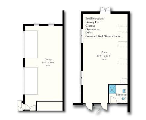 6 bedroom detached house For Sale in Douglas - Floorplan 3
