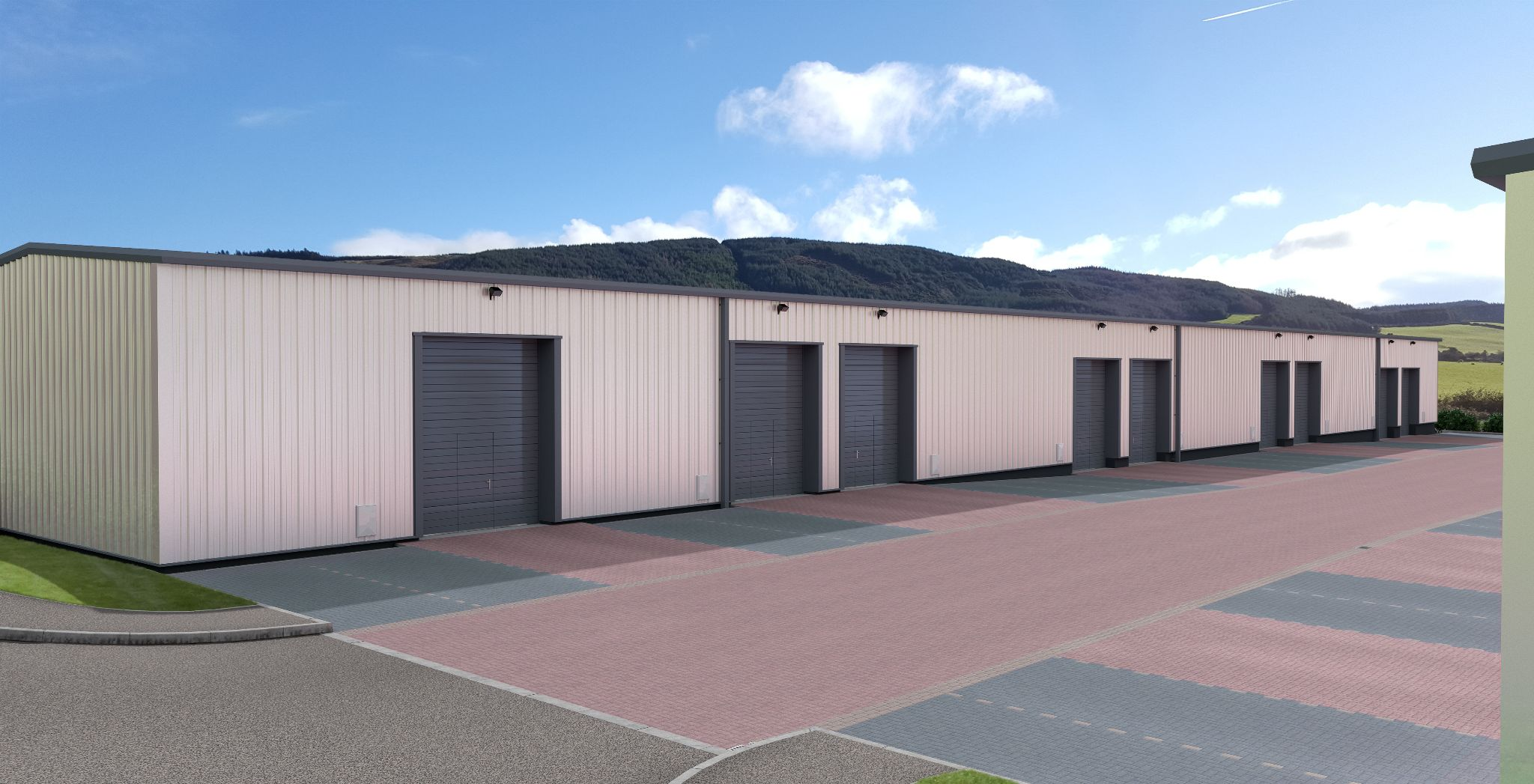 Industrial Units For Sale in Braddan - Phase 2