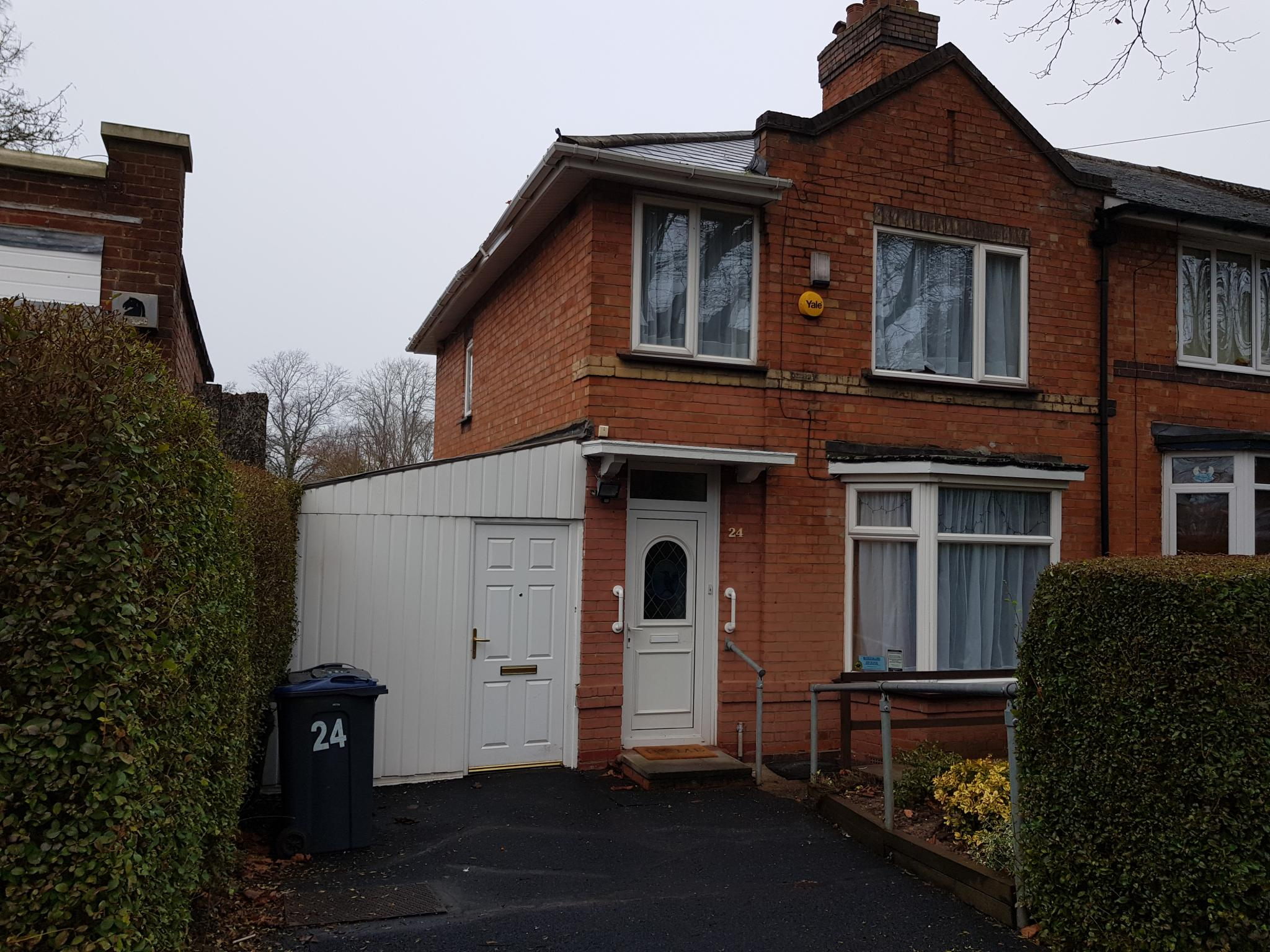 3 Bed Semi-detached House For Sale - Front View