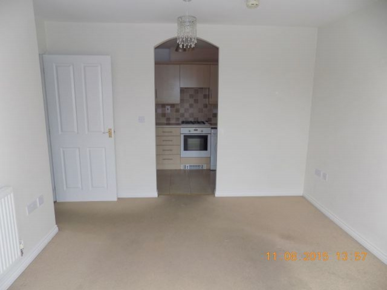 2 Bed Apartment Flat/apartment For Sale - Living/dining room