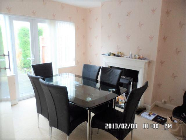 3 Bed Semi-detached House To Rent - Rear Reception Room