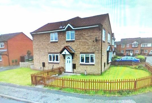 2 Bed Semi-detached House To Rent - Front/Side Elevation