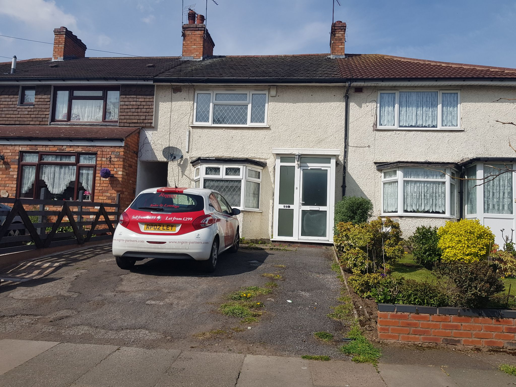 2 Bed Mid Terraced House To Rent - Photograph 1