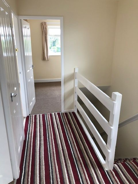 Image 2 of 3 of Hall, stairs and landing, on Accommodation Comprising for