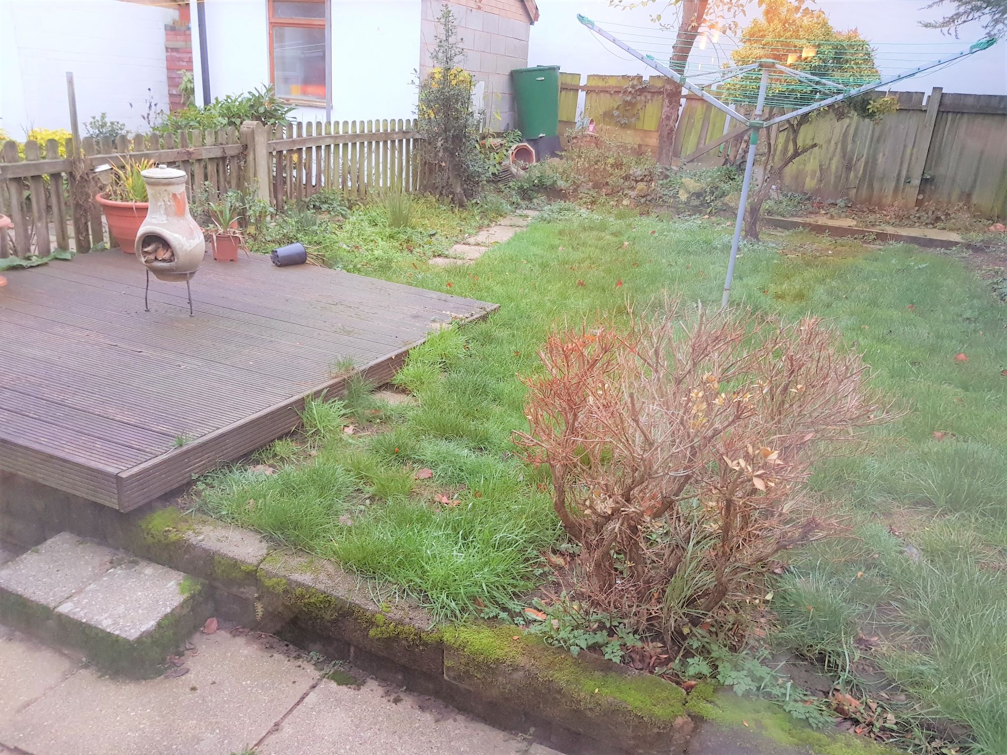 3 Bedroom Semi-detached House To Rent - Rear Garden