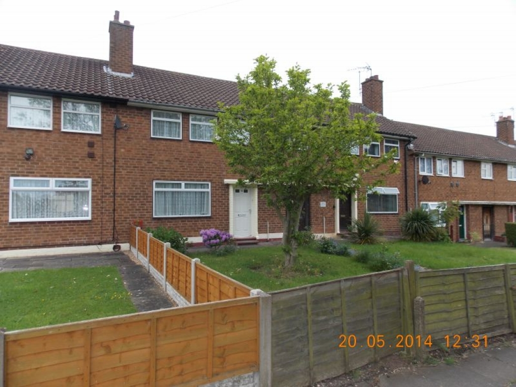 2 Bed Mid Terraced House For Sale - Front View