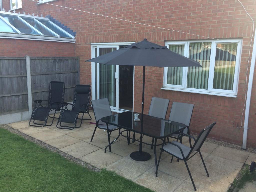 Image 2 of 4 of Rear Gardens, on Accommodation Comprising for