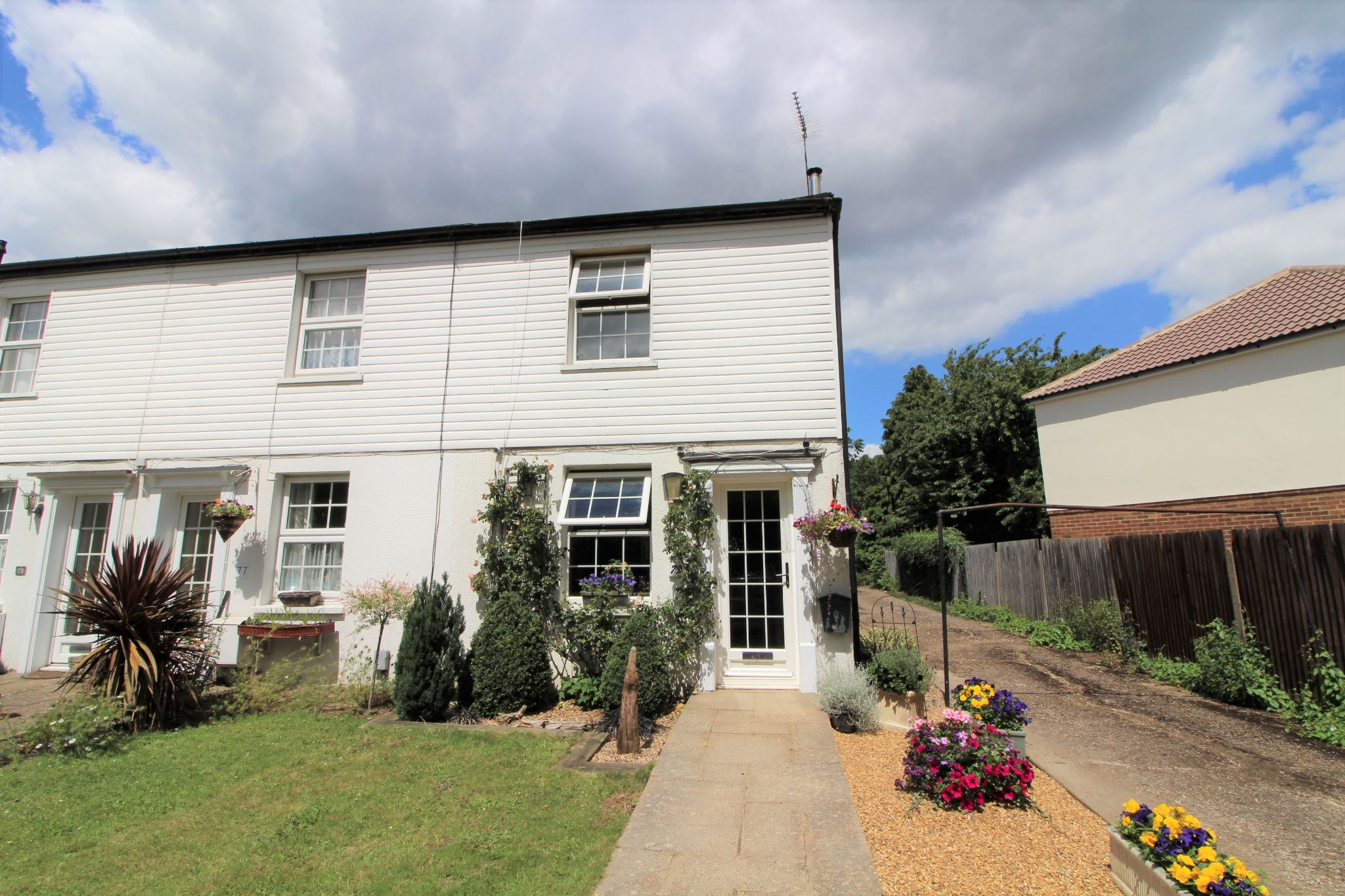 2 bedroom end terraced house For Sale in Welham Green,north Mymms - Property photograph