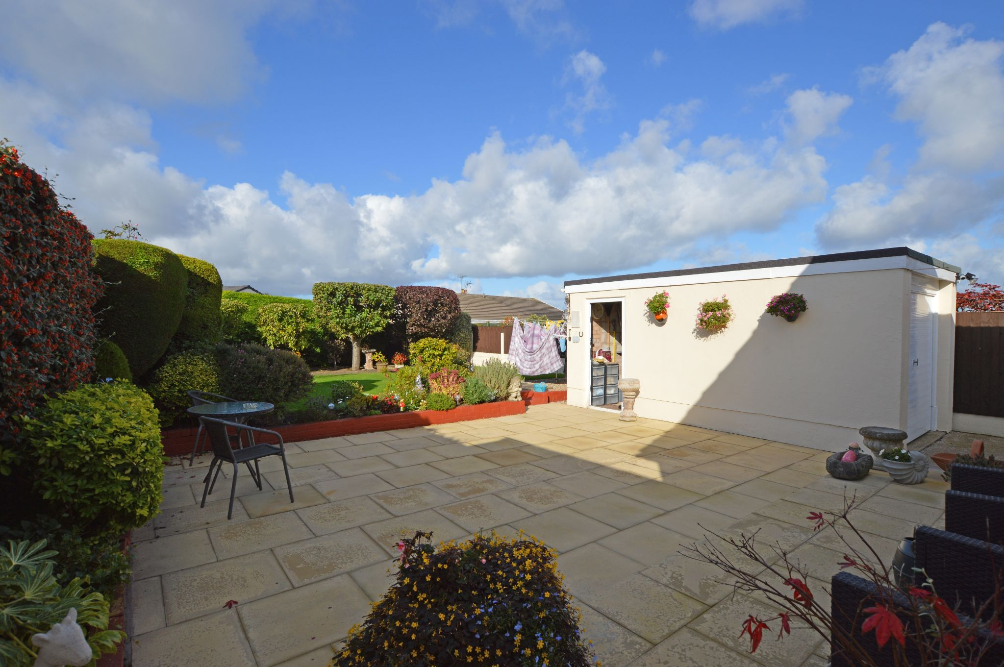 2 bedroom detached bungalow For Sale in Abergele - Garden View 3