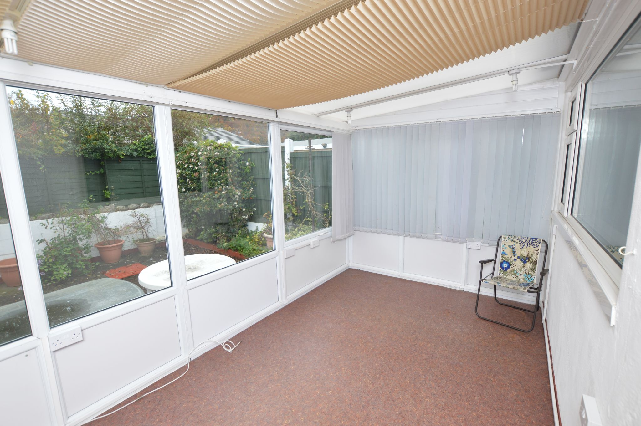 2 bedroom semi-detached bungalow For Sale in Abergele - Conservatory