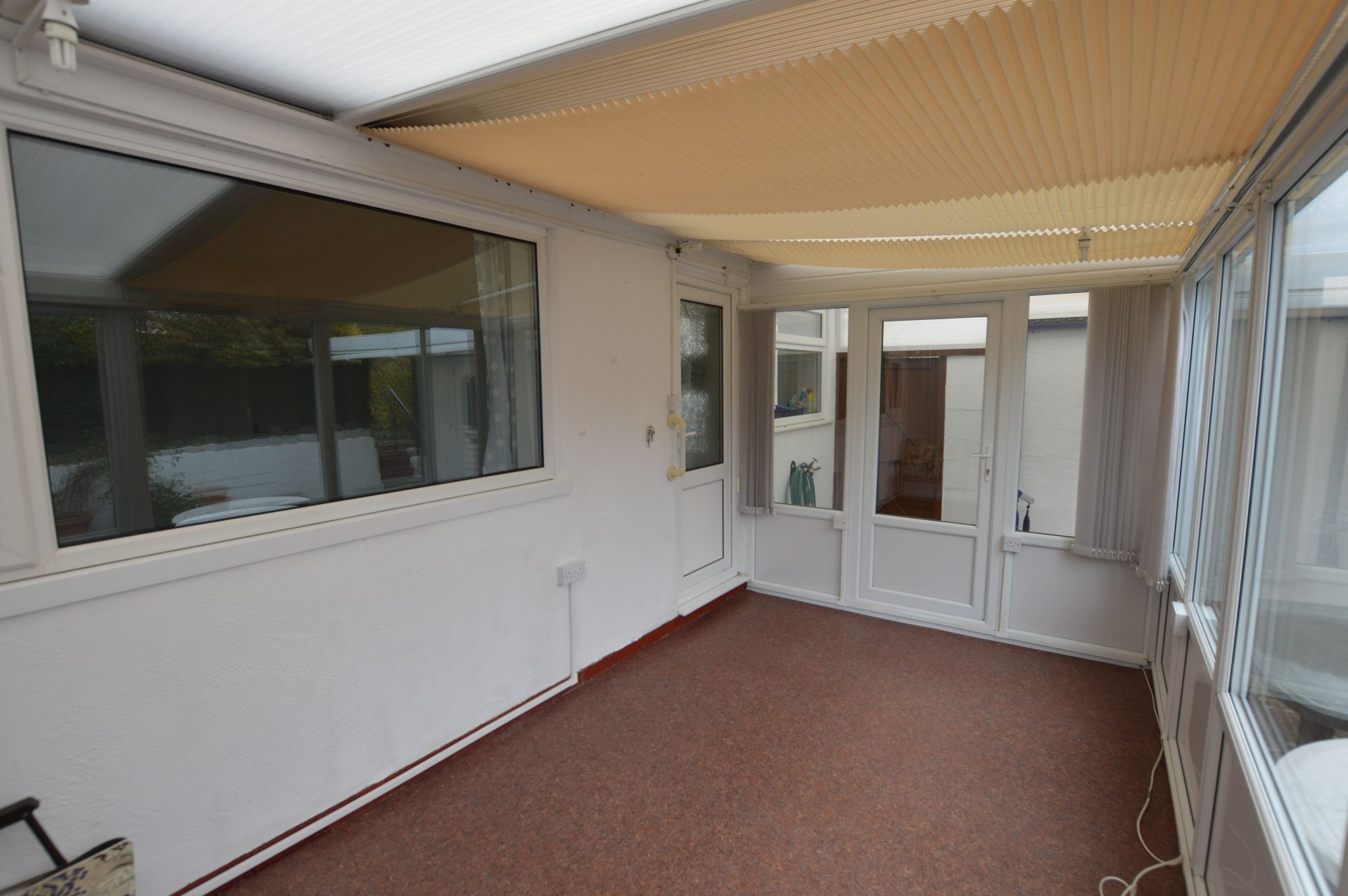 2 bedroom semi-detached bungalow For Sale in Abergele - Conservatory View 2