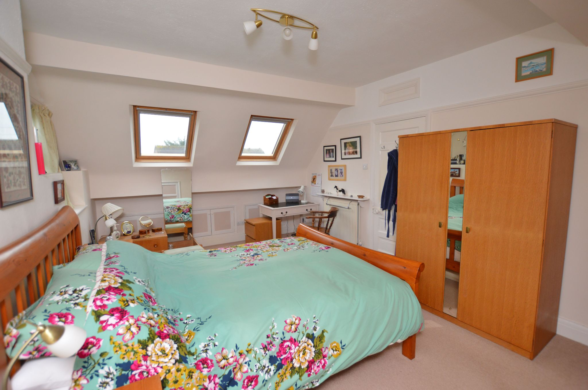 4 bedroom detached bungalow For Sale in Abergele - Bedroom 1 View 2