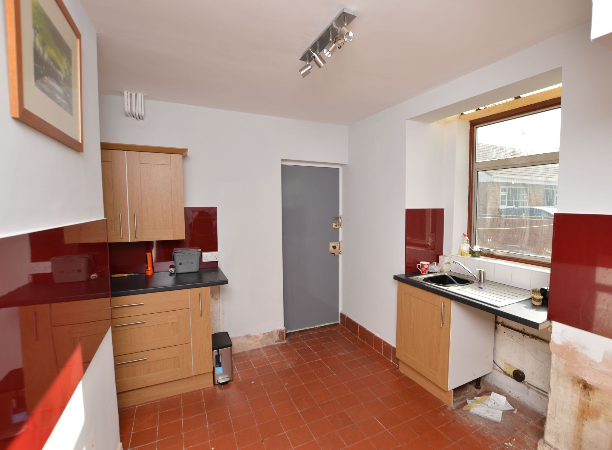 3 bedroom semi-detached house For Sale in Abergele - Kitchen