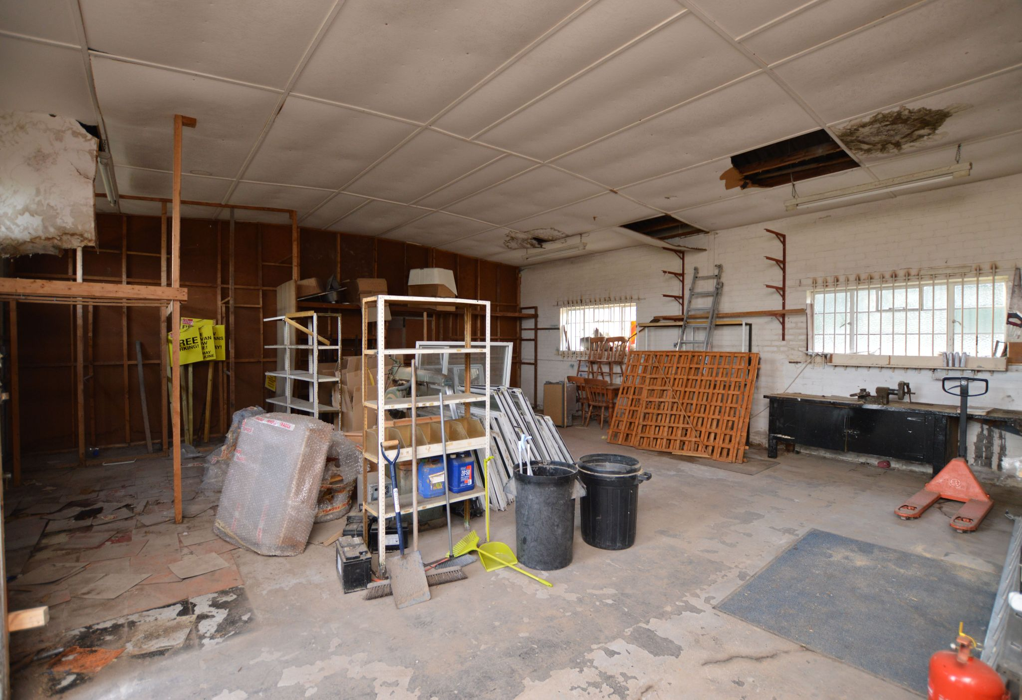 Land For Sale in Holywell - Workshop View 2