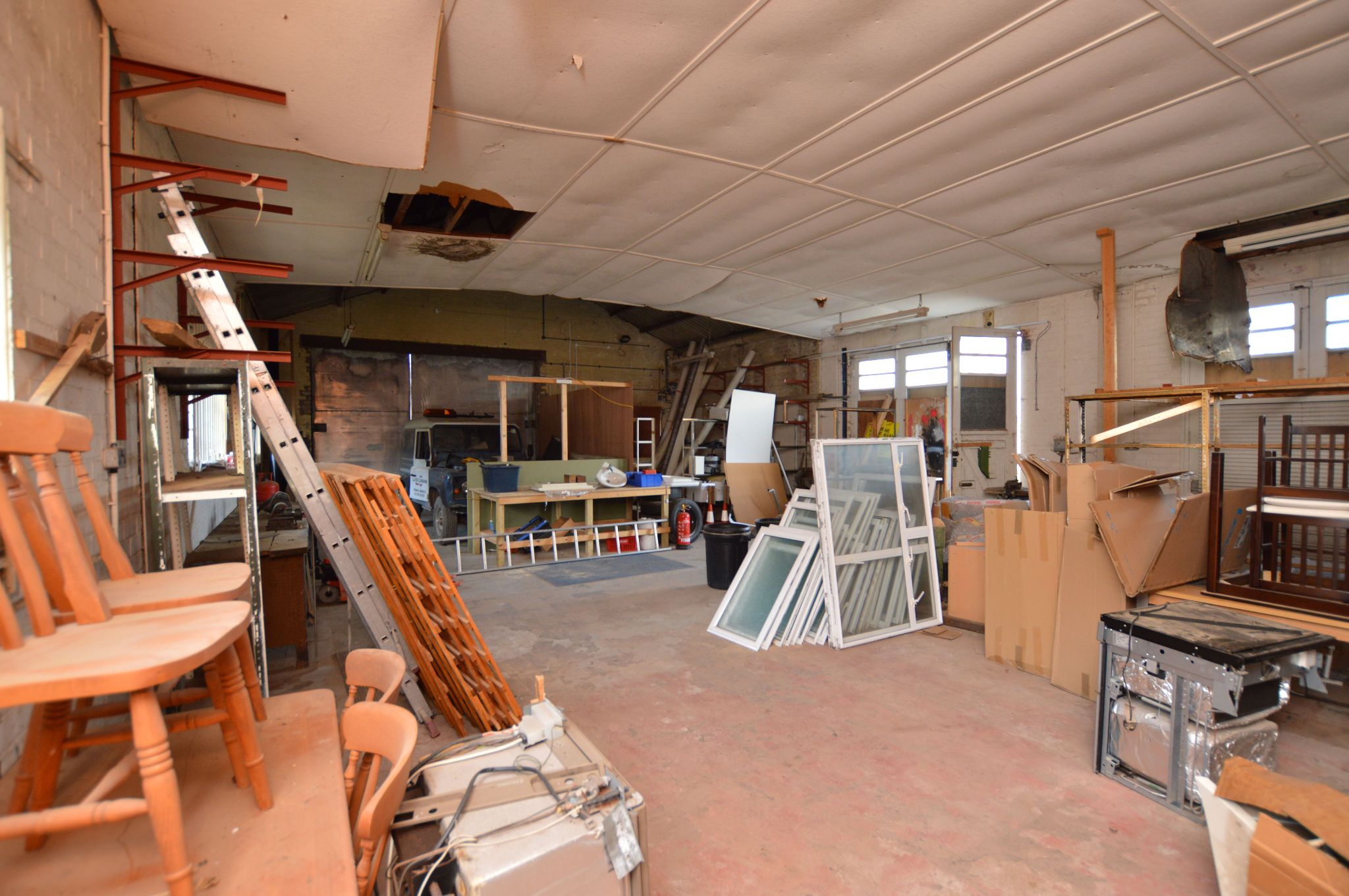 Land For Sale in Holywell - Work Shop