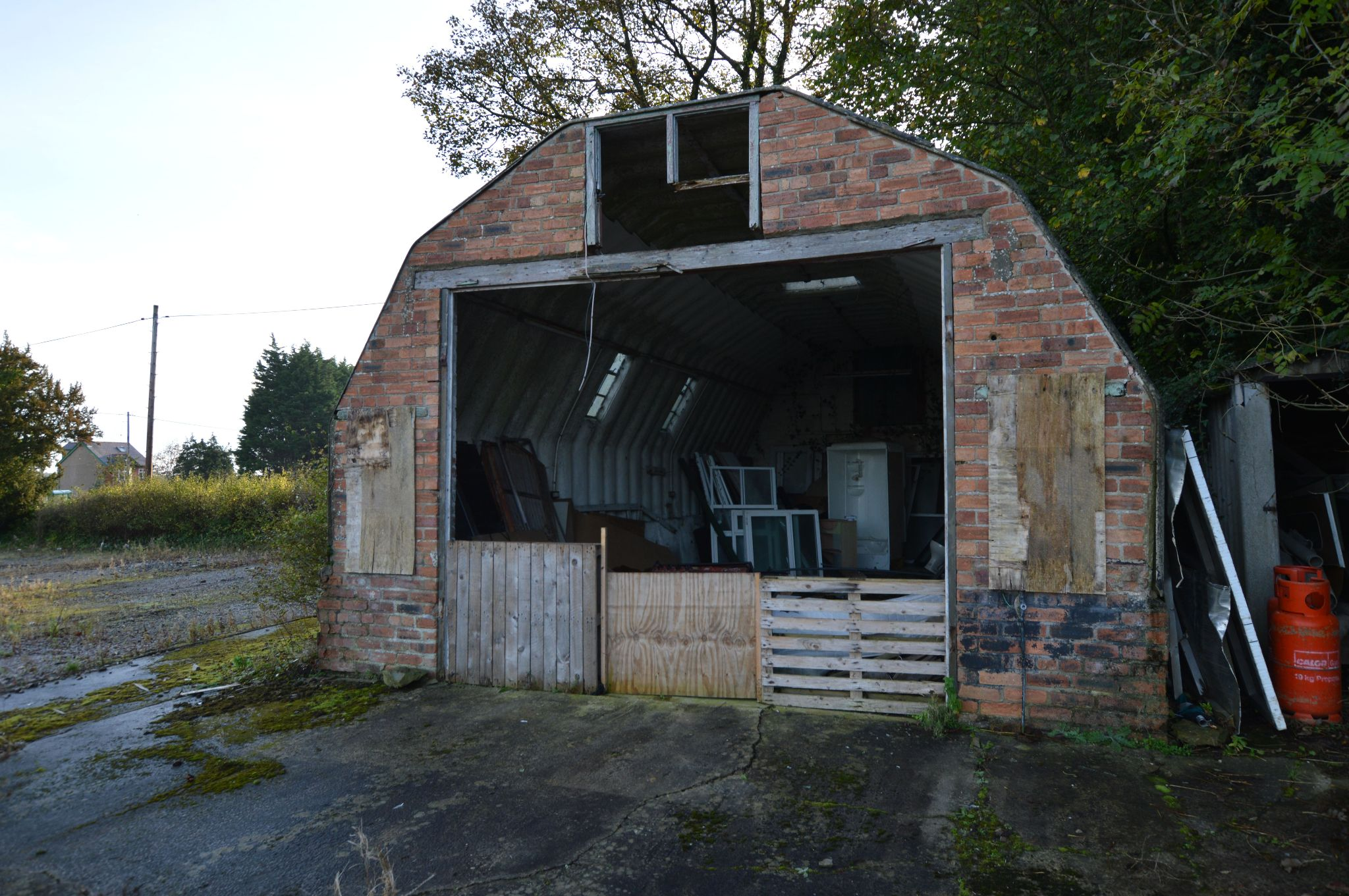Land For Sale in Holywell - Garage