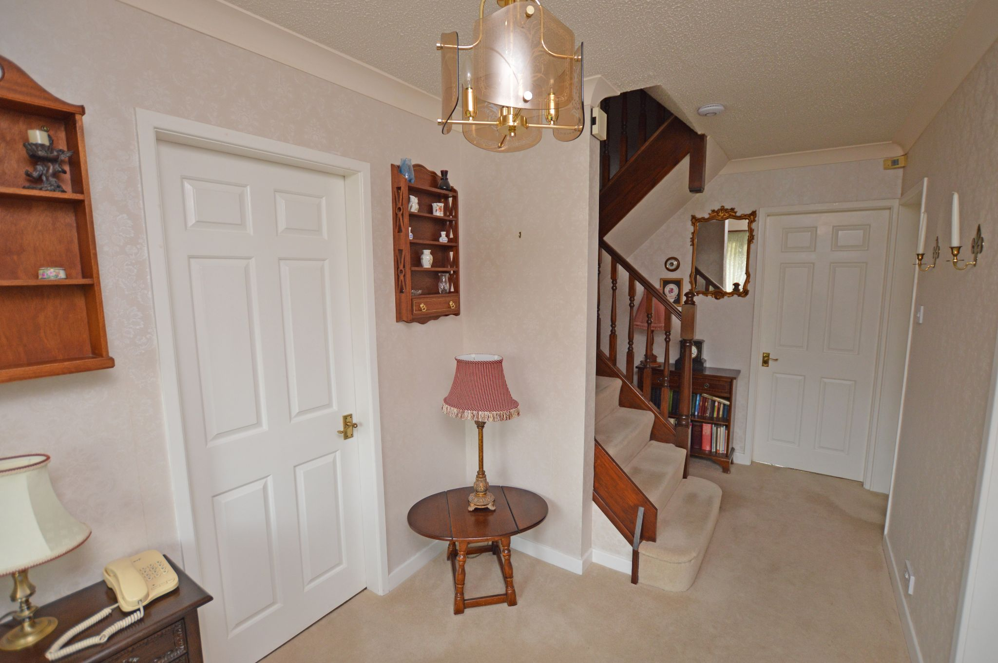 4 bedroom detached house For Sale in Abergele - Hallway