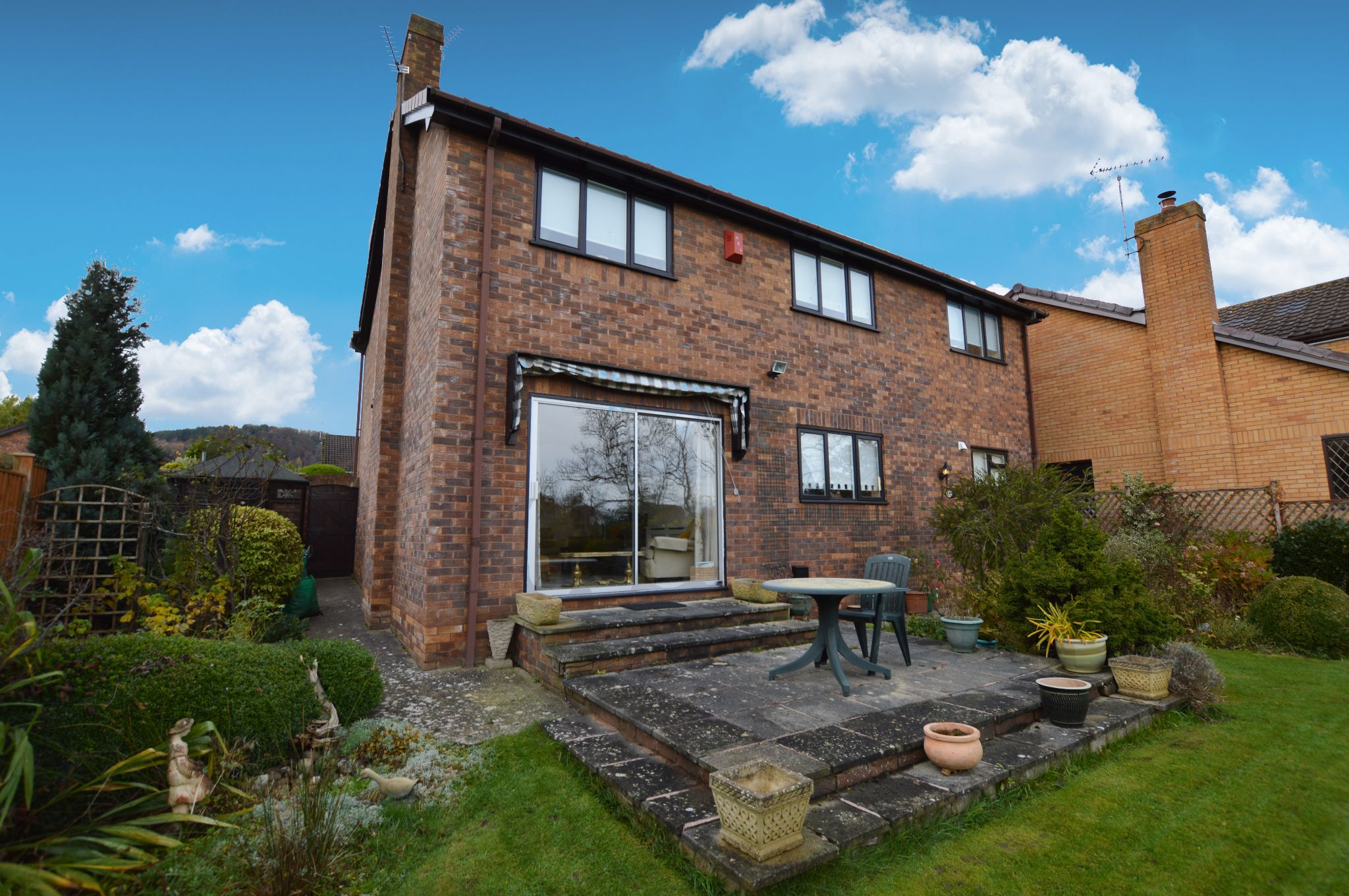 4 bedroom detached house For Sale in Abergele - Rear Aspect