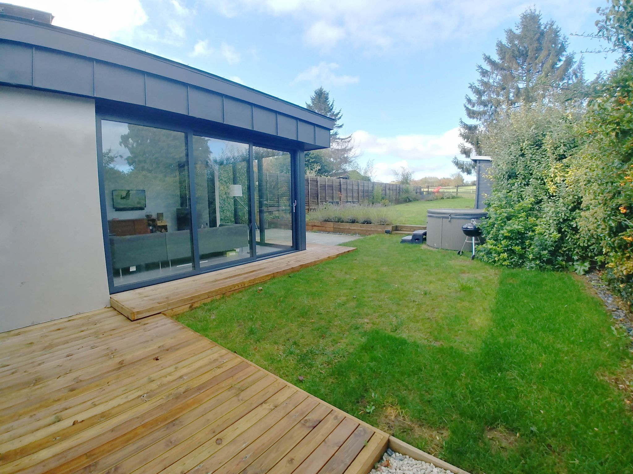 4 Bedroom Detached House For Sale - Garden from the deck