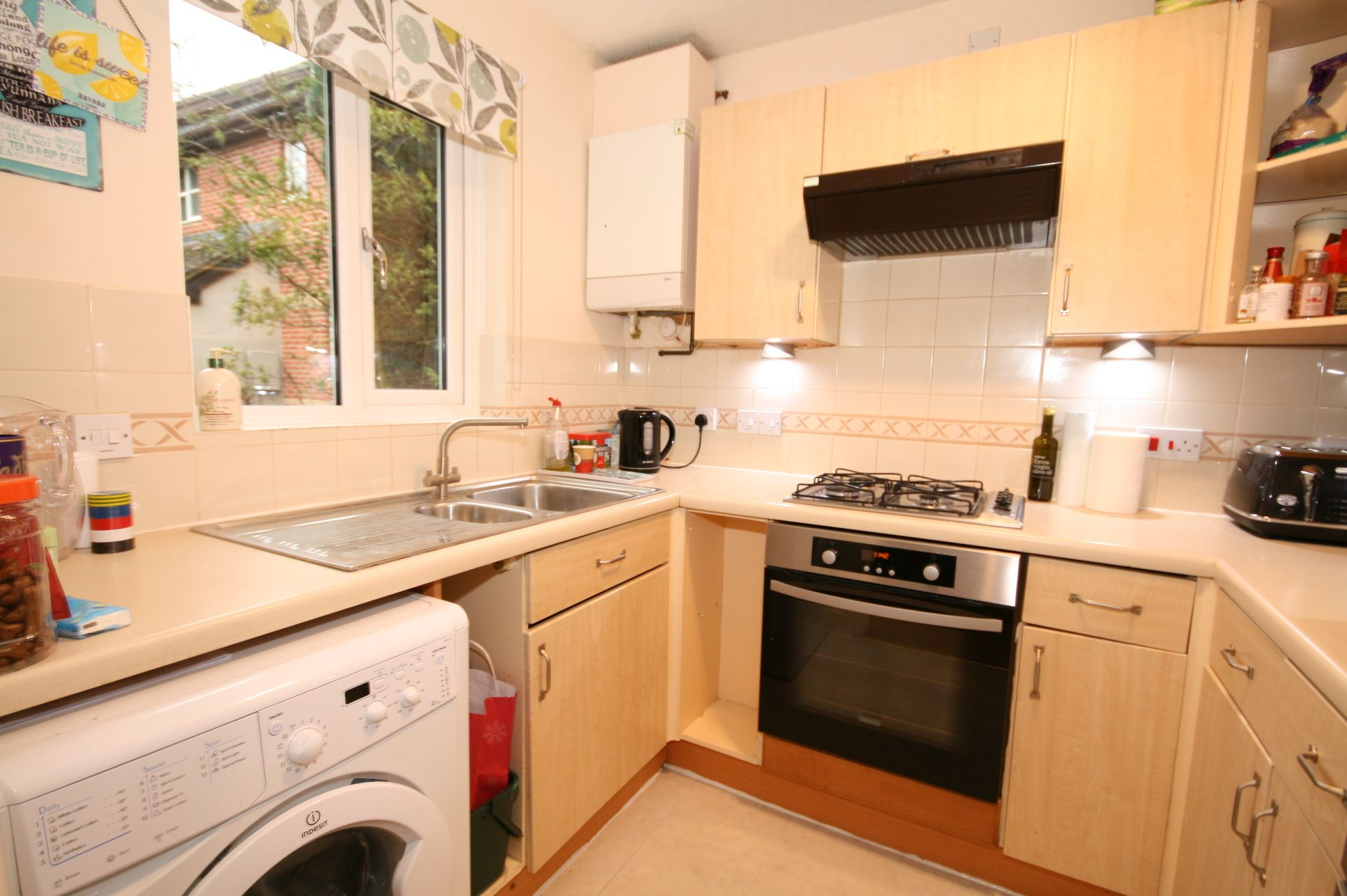 2 Bedroom End Terraced House For Sale - Fitted kitchen