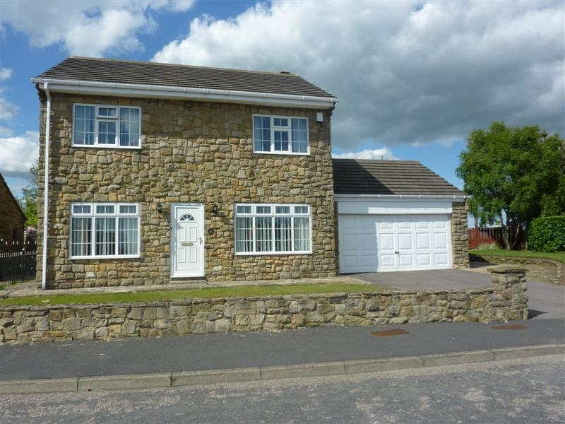 4 bedroom detached house SSTC in High Etherley, Bishop Auckland - Front Elevation.
