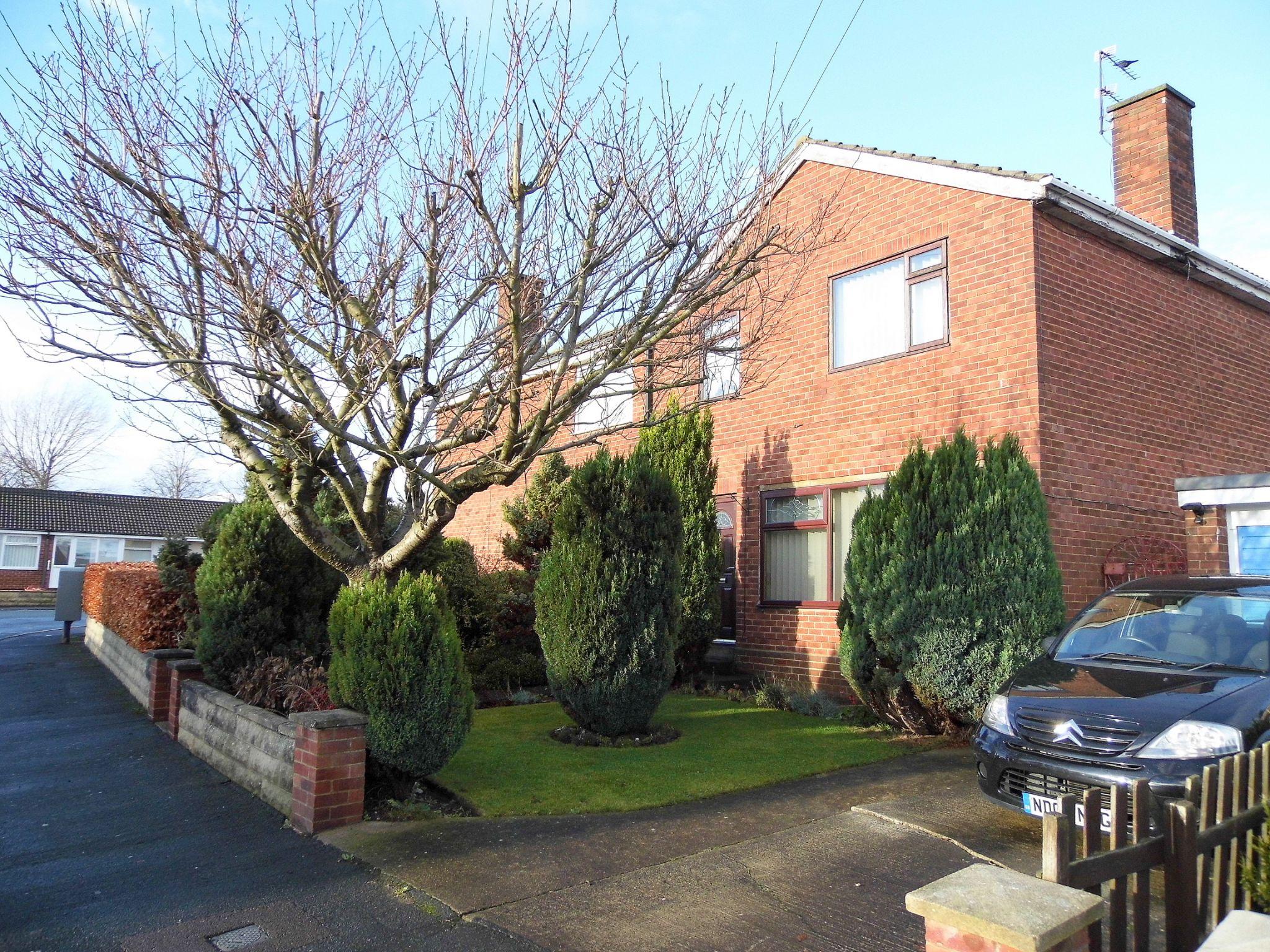 3 bedroom semi-detached house Sold in Bishop Auckland - Front Elevation.