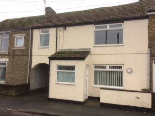 3 bedroom mid terraced house Sale Agreed in Bishop Auckland - Front Elevation.
