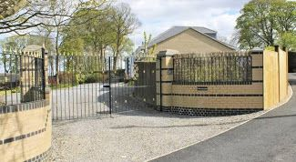 5 bedroom detached bungalow Sale Agreed in Crook - Gated Entrance.