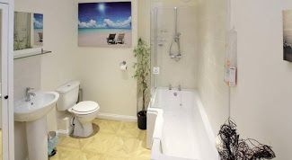 5 bedroom detached bungalow Sale Agreed in Crook - Family Bathroom.