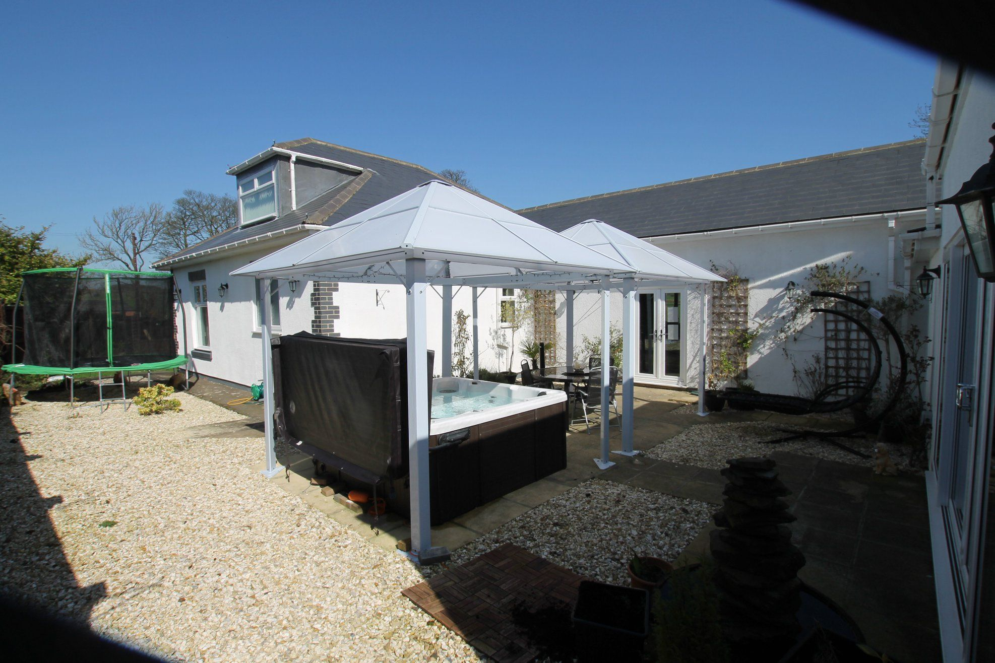 5 bedroom detached bungalow Sale Agreed in Crook - Hot Tub.