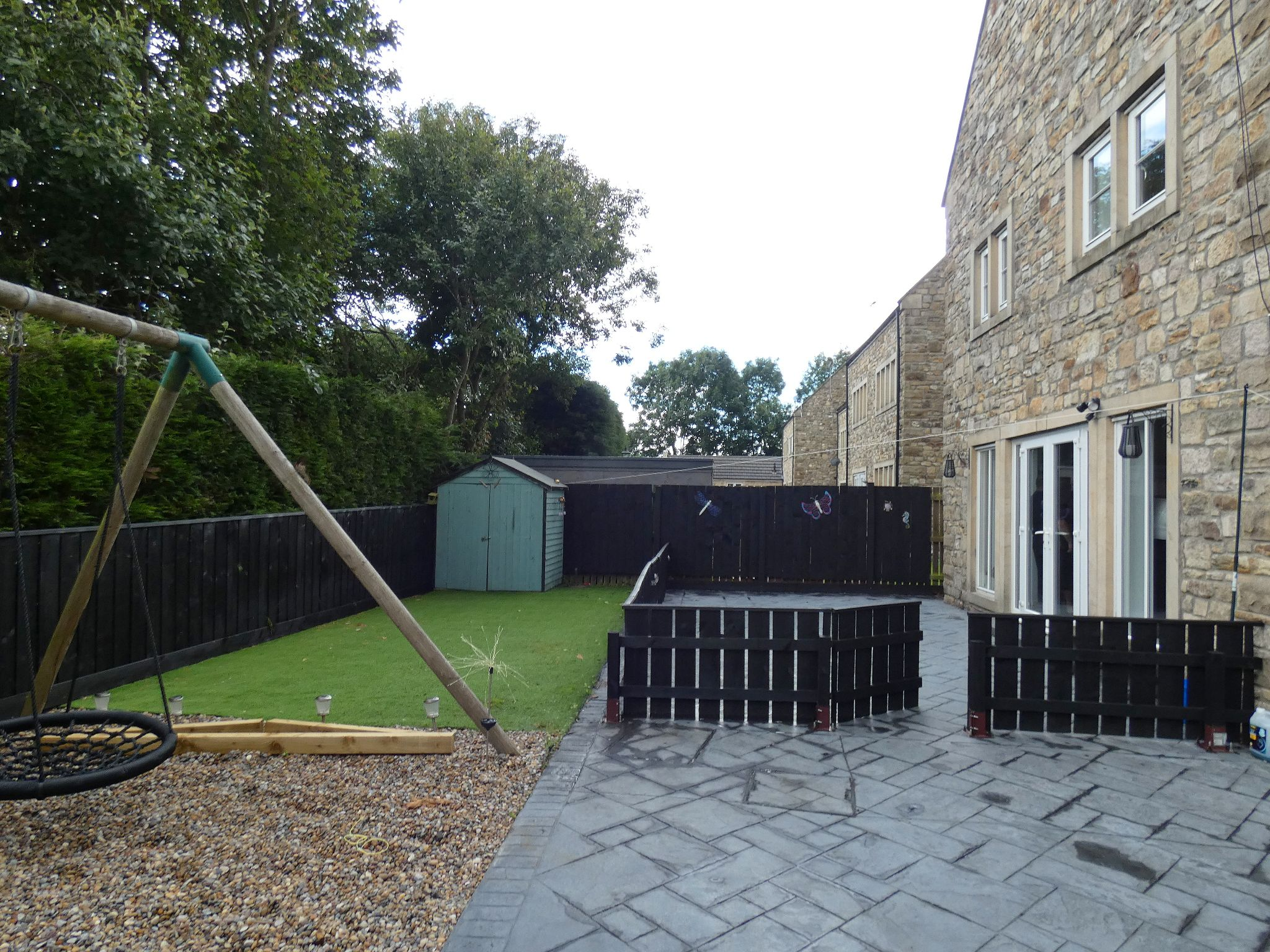 6 bedroom detached house For Sale in Bishop Auckland - Rear Garden.