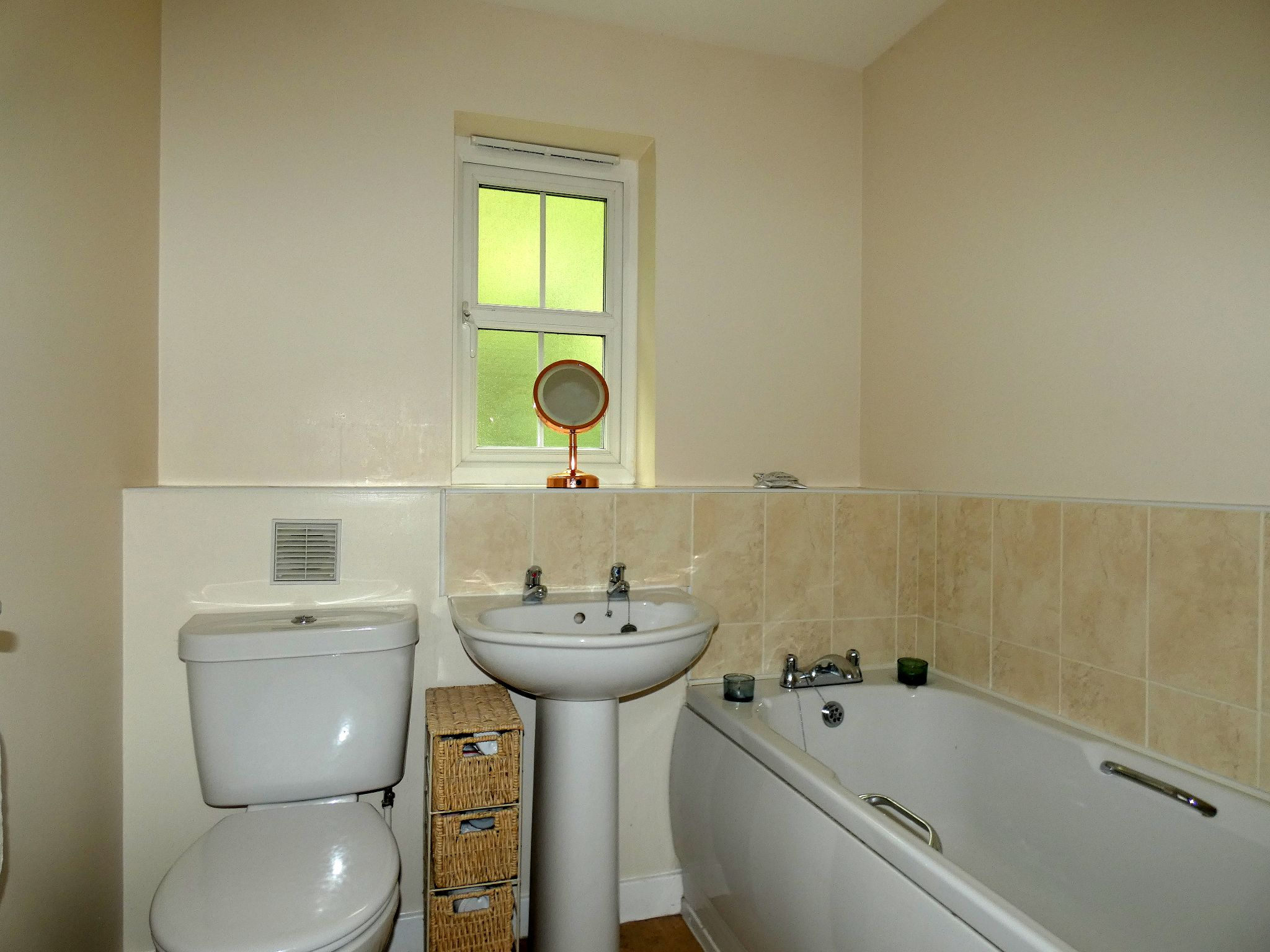 3 bedroom semi-detached house For Sale in Bishop Auckland - Family Bathroom.