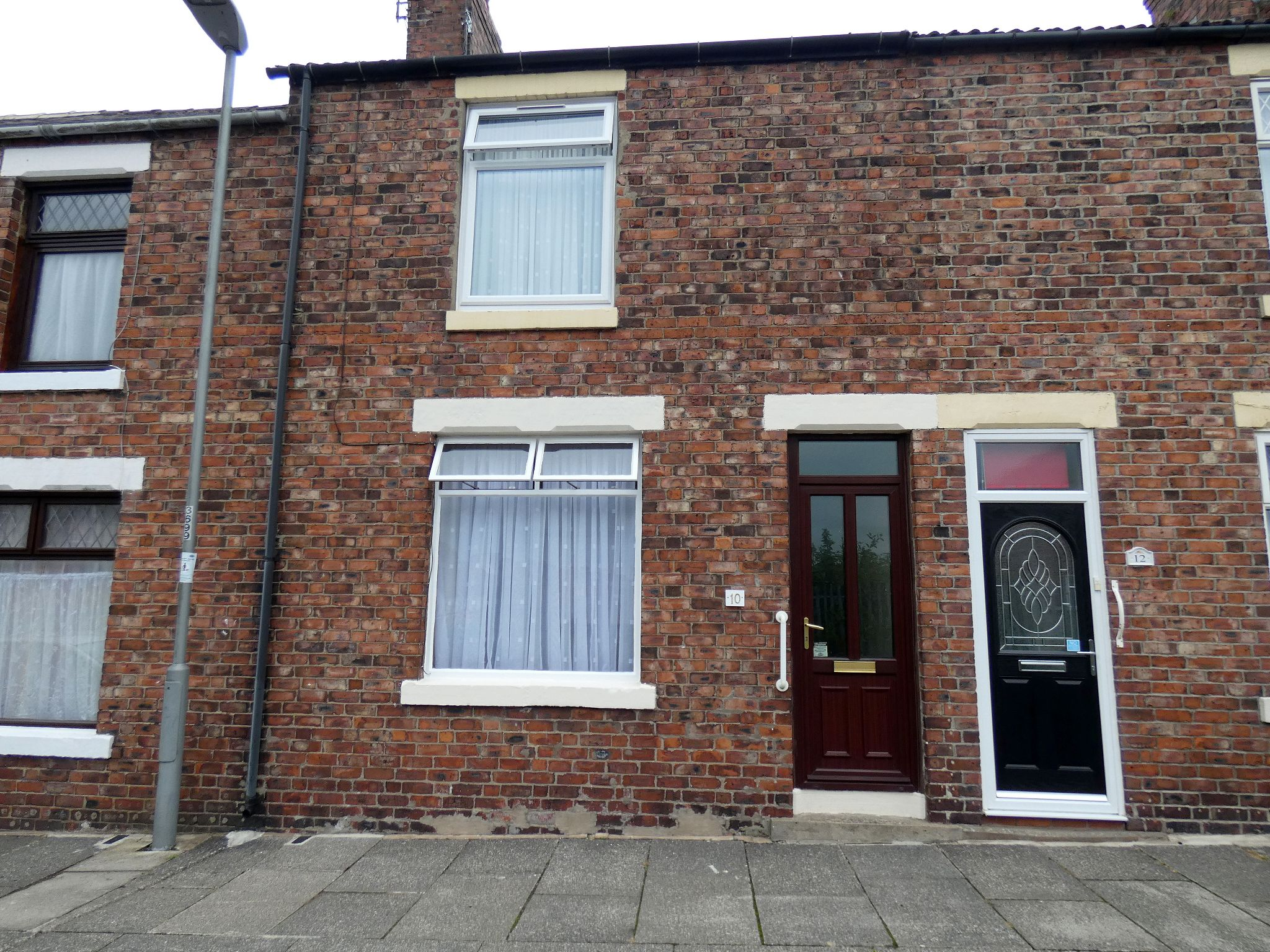 2 bedroom mid terraced house Sale Agreed in Shildon - Front Elevation.