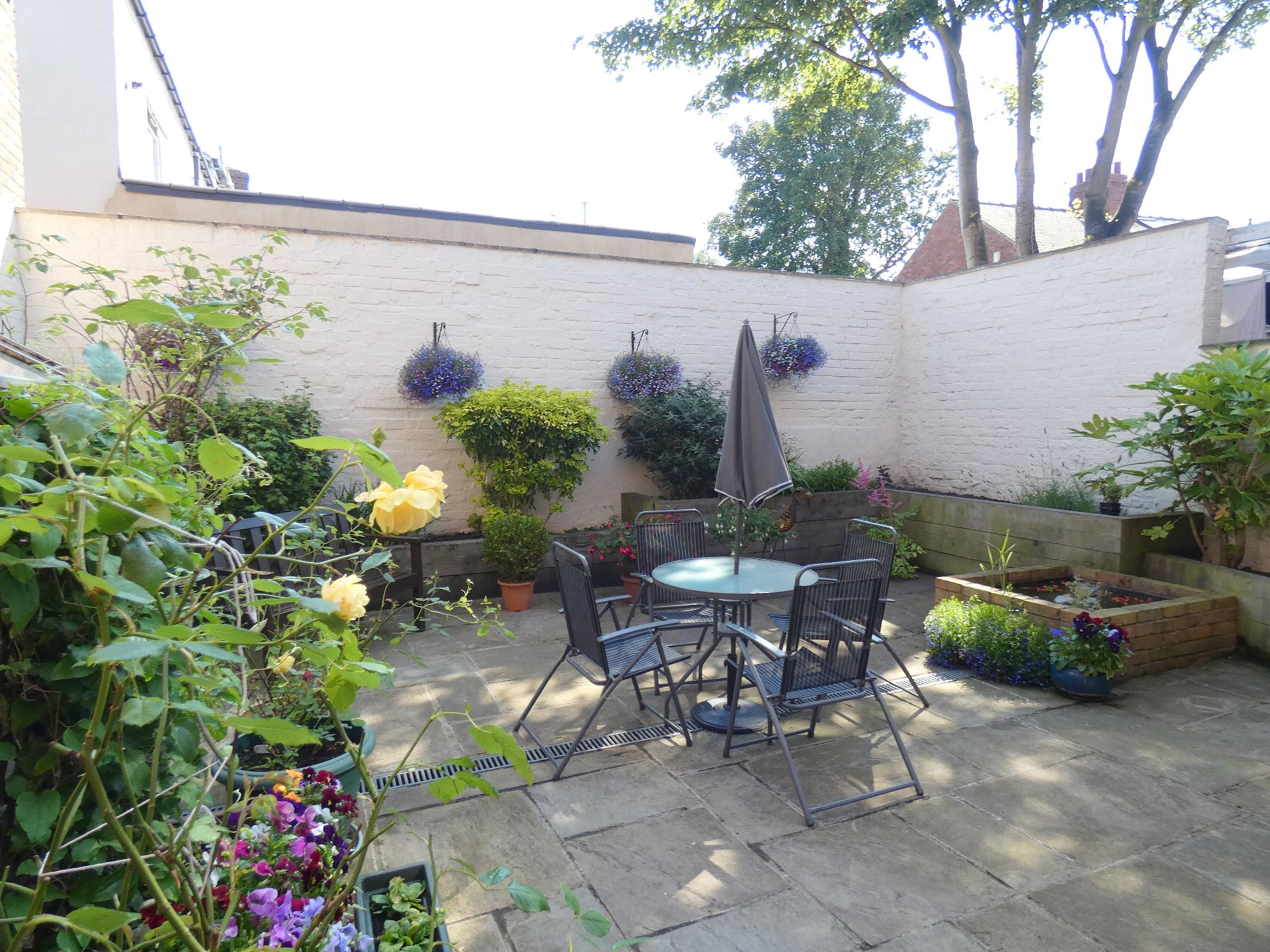 5 bedroom semi-detached house For Sale in Bishop Auckland - Rear Courtyard.