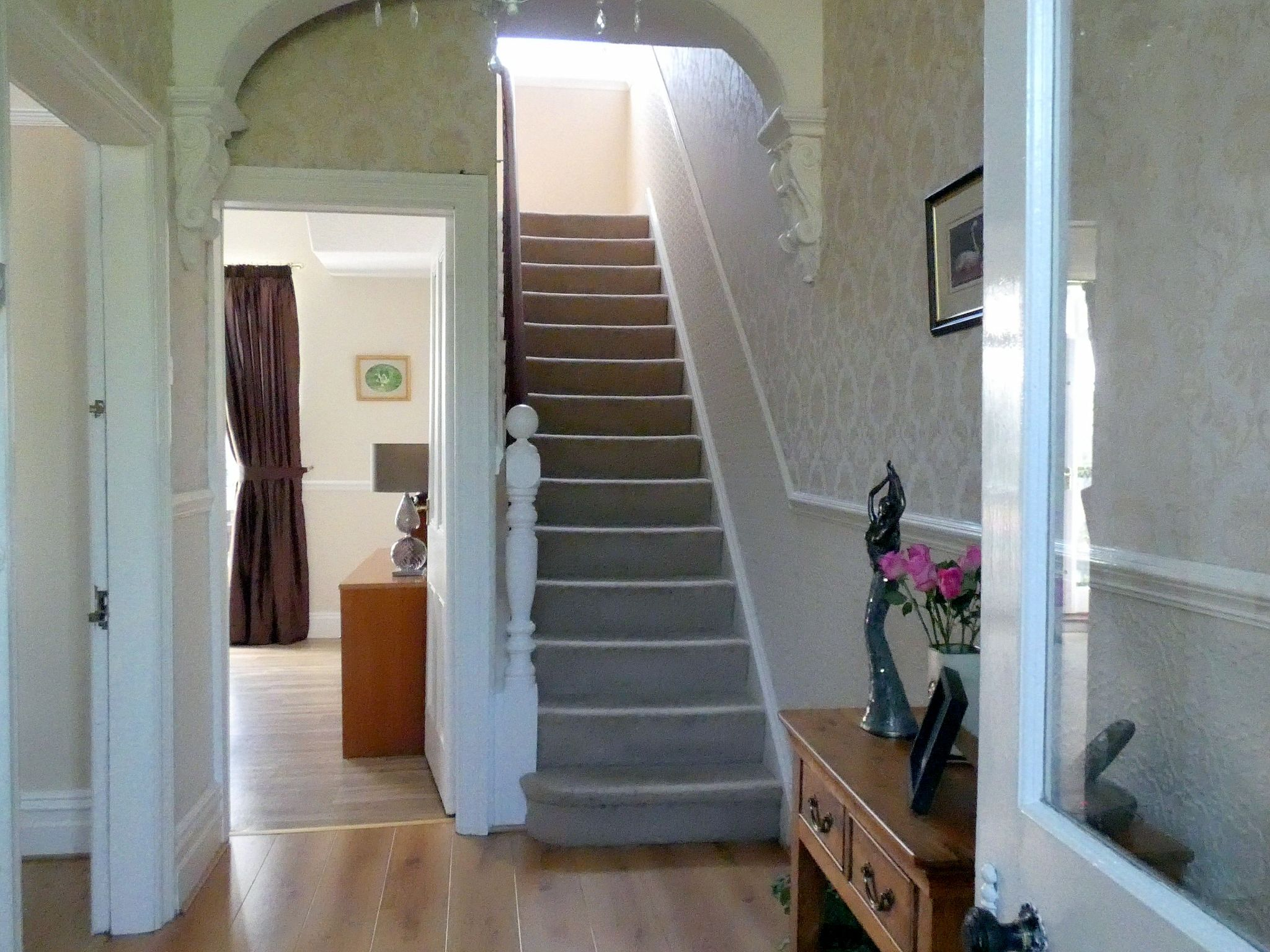 5 bedroom semi-detached house For Sale in Bishop Auckland - Reception Hallway.