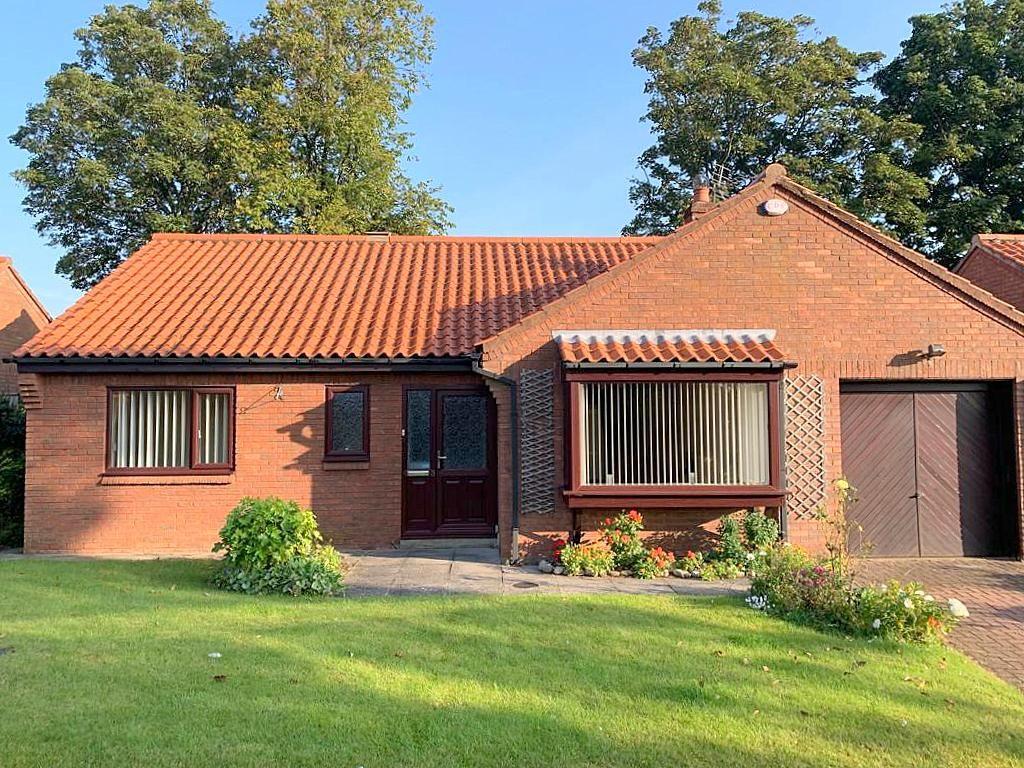 3 bedroom detached bungalow Sold in Bishop Auckland - Front Elevation.
