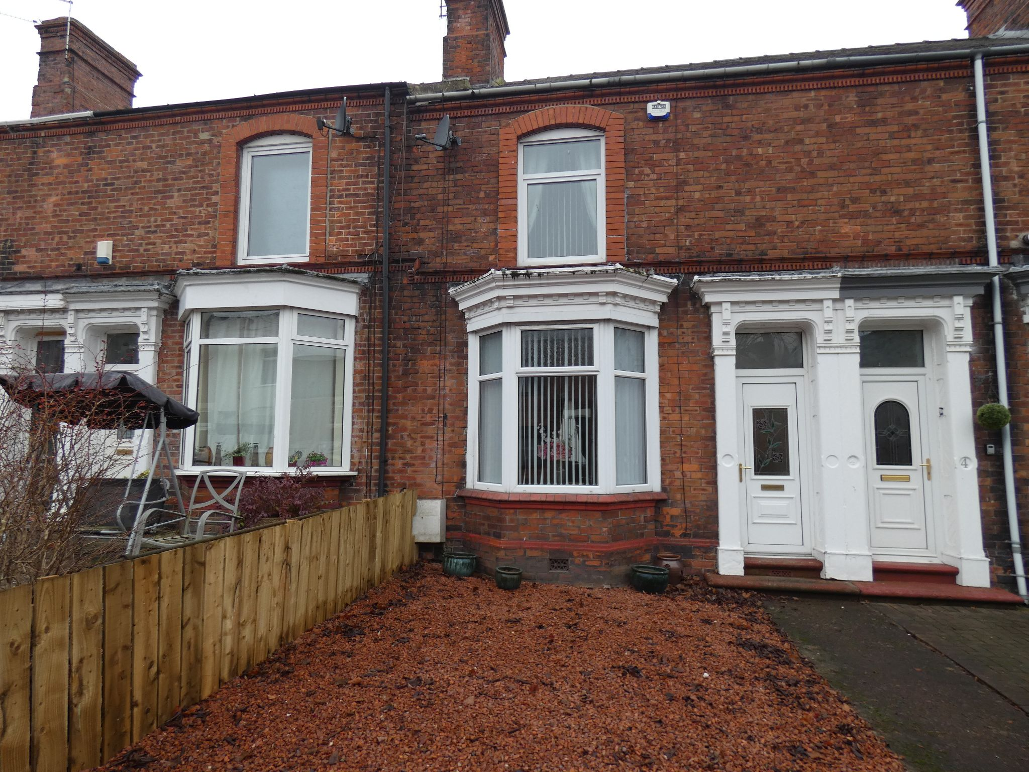 2 bedroom mid terraced house Sale Agreed in Bishop Auckland - Front Elevation.