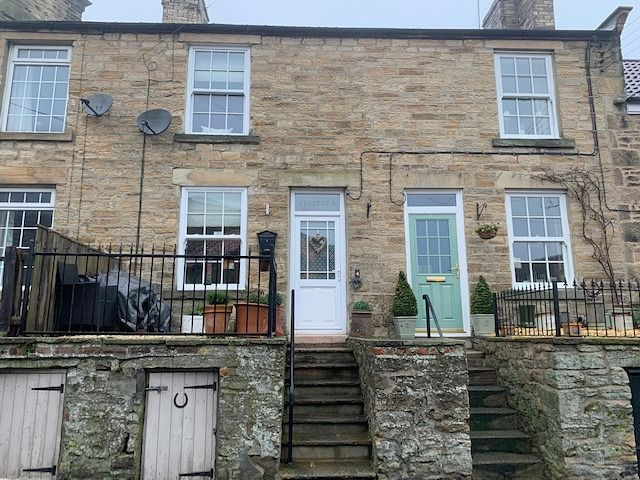 2 bedroom mid terraced house Sale Agreed in Witton Le Wear - Front Elevation.