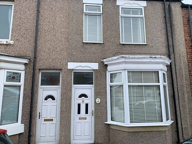 3 bedroom mid terraced house For Sale in Bishop Auckland - Front Elevation.