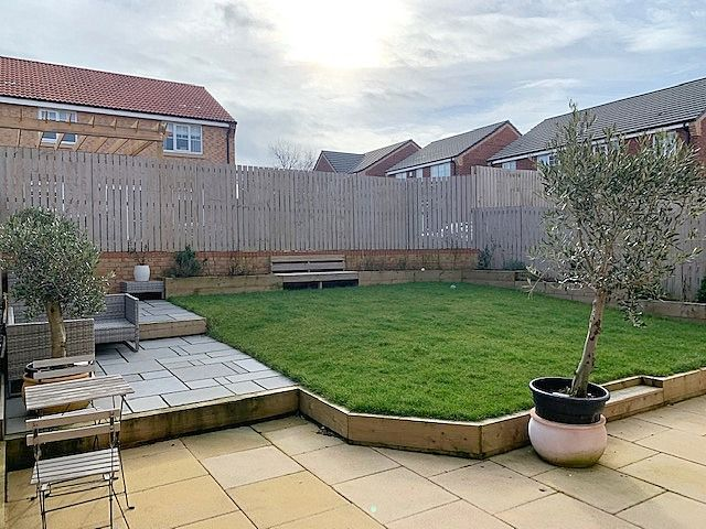 4 bedroom detached house For Sale in Stainton,  Middlesbrough - Rear Garden.