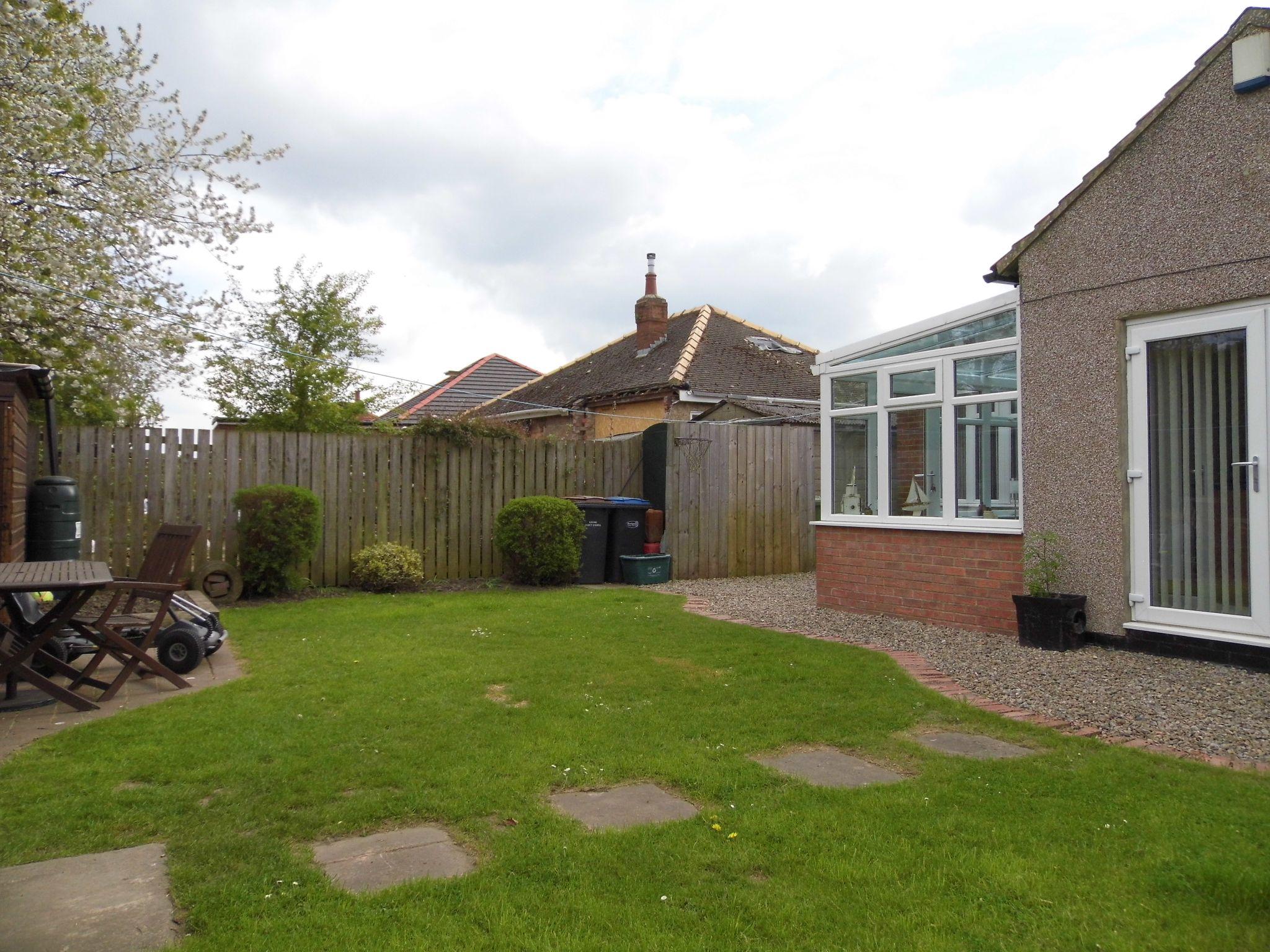 2 bedroom detached bungalow Sale Agreed in Shildon - Rear Garden.
