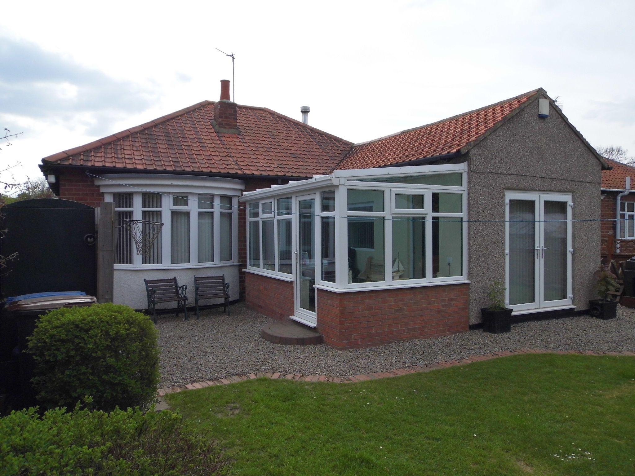 2 bedroom detached bungalow Sale Agreed in Shildon - Rear Elevation.