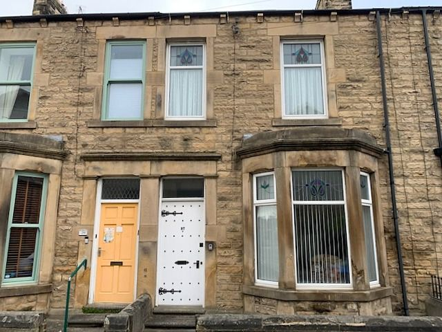 4 bedroom mid terraced house Sale Agreed in Bishop Auckland - Front Elevation.