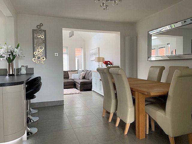 4 bedroom semi-detached house Sale Agreed in Bishop Auckland - Kitchen Diner.