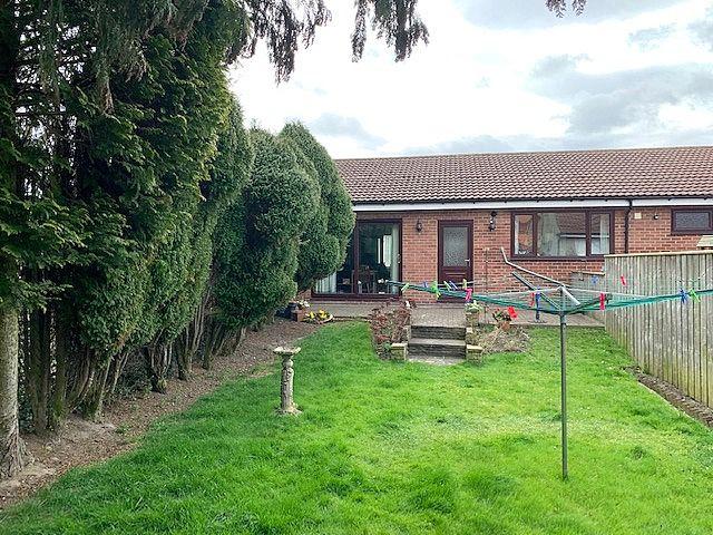 4 bedroom detached bungalow For Sale in Bishop Auckland - Rear Elevation.
