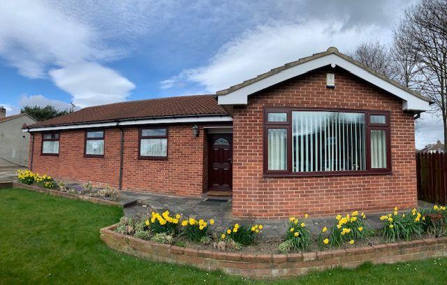 4 bedroom detached bungalow For Sale in Bishop Auckland - Front Elevation.