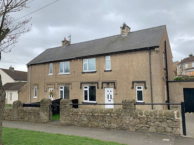 3 bedroom semi-detached house Sale Agreed in Cockfield, Bishop Auckland - Front Elevation.