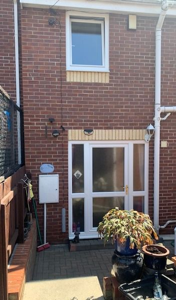 3 bedroom mid terraced house For Sale in Bishop Auckland - Rear Elevation.