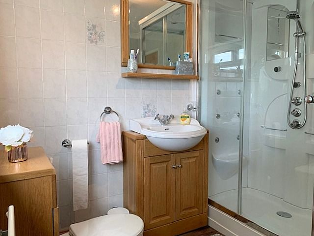 4 bedroom detached house Sale Agreed in Crook - Family Bathroom.